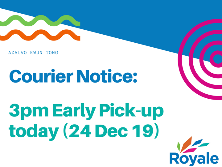 Royale International Courier Service For Christmas Eve