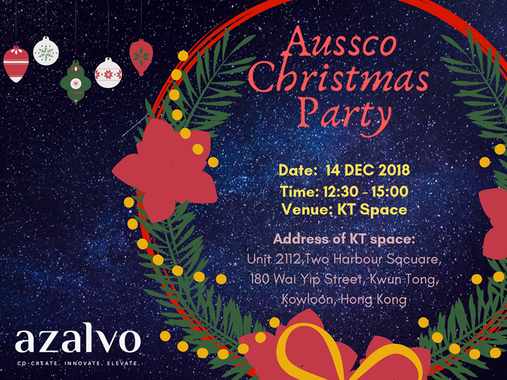 Aussco Christmas Party at KT space