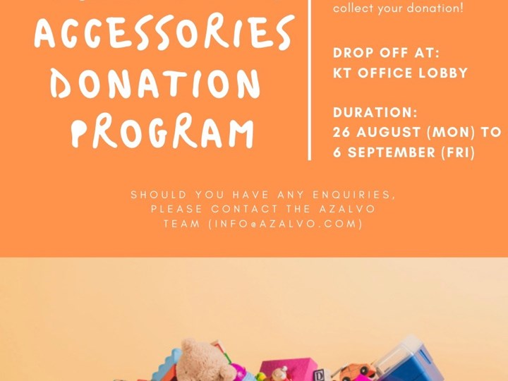 Used Toys and Accessories Donation Program