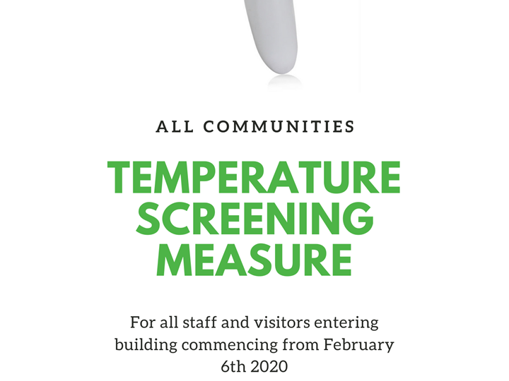 Temperature Screening Measure