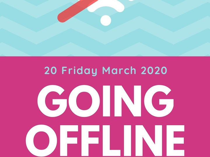 No Internet! (Friday 20 March 2020)