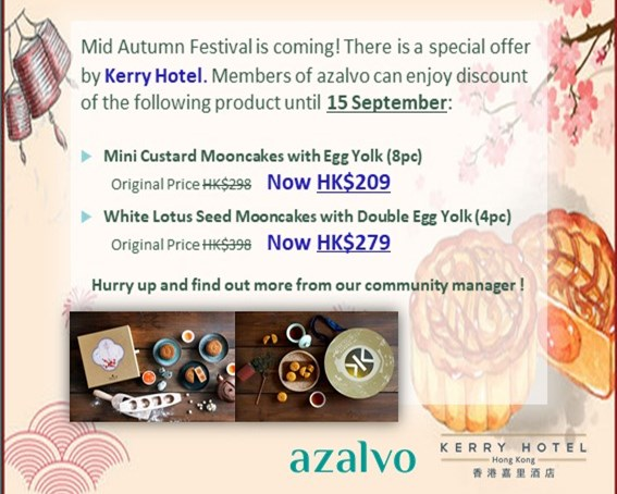 Mooncake Special Offer by Kerry Hotal